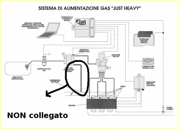 Schema Elettrico Impianto Gpl Romano : Schema impianto brc gpl fare di una mosca
