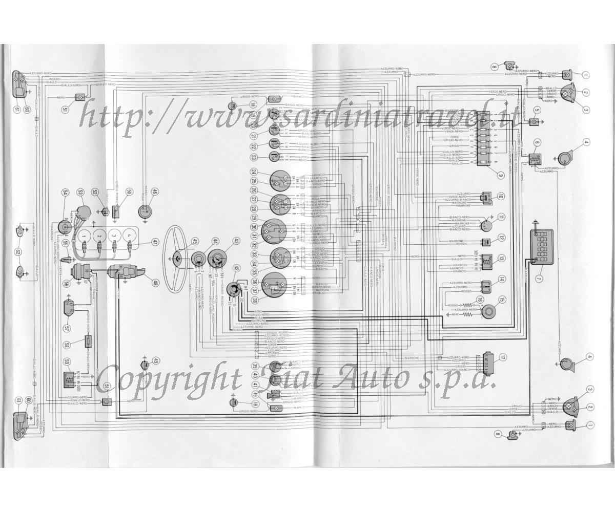 Schema Elettrico Fiat D : Schema elettrico octaver fare di una mosca